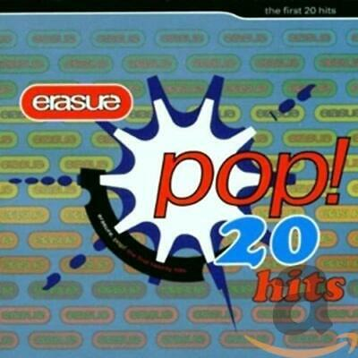 Erasure - Pop! - The First 20 Hits - Erasure CD J3VG The Cheap Fast Free Post