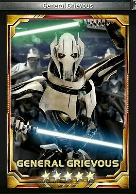 Star Wars Force Collection General Grievous 5 Base Guide Buy2Get1Free