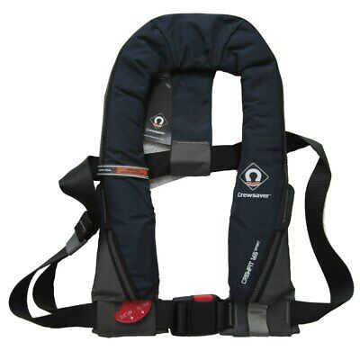 Life Jacket Crewsaver Crewfit Navy Blue Sport 165N Manual Inflatable