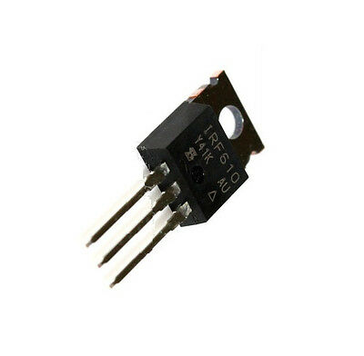 2PCS IRF610PBF IRF610 MOSFET N-CH 200V 3.3A TO-220AB NEW