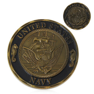 U.S. Navy Shellback Crossing the Line Sailor Eagle Collection Commemorative Coin