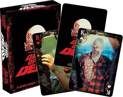 Dawn Of The Dead set of 52 playing cards + jokers (nm)