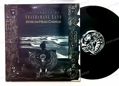 African Head Charge - In Pursuit Of Shashamane Land UK LP 1993 //1