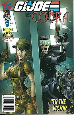 FUN PUBLICATIONS FP COMIC G I. JOE VS COBRA  Direct to #2  DTC Retail/Convention