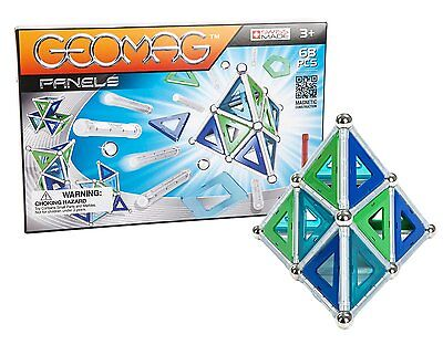 Geomag 68-Piece Construction Set with Assorted Panels