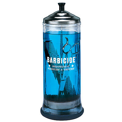 Barbicide Large 1 Litre Disinfecting Jar Health & Safety Barber Supplies New