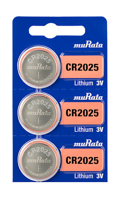 Sony CR2025 2025 DL2025 3V Lithium Coin Battery (3 pack) - Tracking Included!