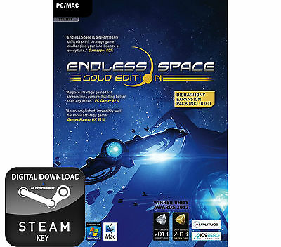 Endless Space Gold Edition Pc And Mac Steam Key