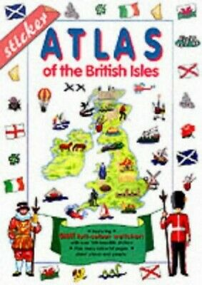 Sticker Atlas of the British Isles (Sticker Activity) Mixed media product Book
