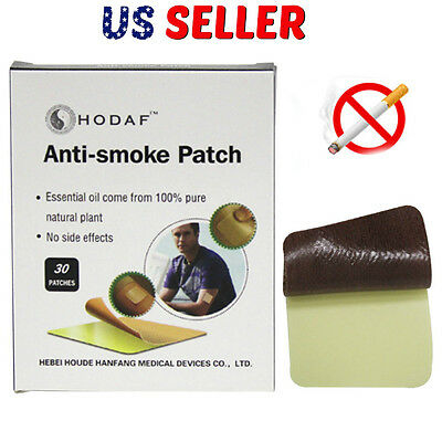 30 Pieces Healthy Effective Quit Stop Anti Smoke Smoking Aid Nicotine Patches