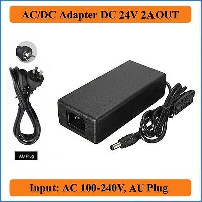AC Power Adapter 24V 2A Dymo LabelWriter 450 Turbo Thermal DSA-0421S-24  1.75A