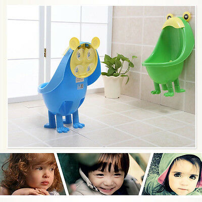 Frog Potty Toilet Training Kids Urinal for Boys Pee Trainer Kid Children Urinal