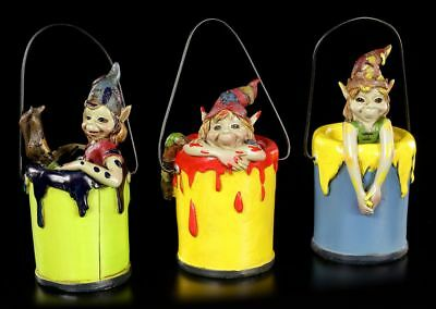 Pixie Figuren - Baden in Farbe - Anthony Fisher Gnome Kobolde