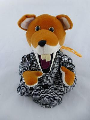 Basil Brush Pencil Case/Puppet with zip