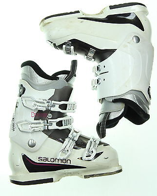 Used Salomon Divine R60 White Ski Boots Women's