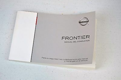 14 2014 Nissan Frontier Spanish Owner/'s Owners Owner Manual