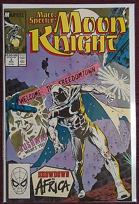 Marc Spector Moon Knight (1989) #3, NM 9.0