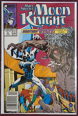 Marc Spector Moon Knight (1989) #6, NM 9.0, NEWSSTAND EDITION