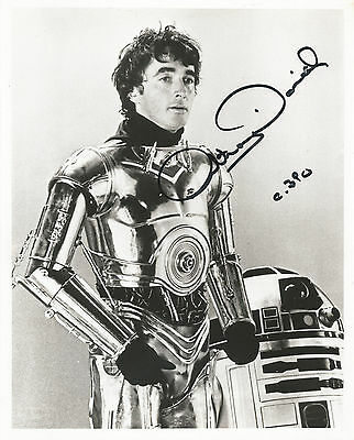 Star Wars - Anthony Daniels as C3PO Signed Photo Autograph  20.5 cm x 25,5 cm