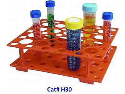 Plastic Tube Rack for 10ml 15ml 50ml Centrifuge Tubes, Bottle Holder, Refoldable