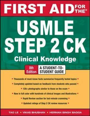 First Aid for the Usmle Step2 Ck : Clinical Knowledge