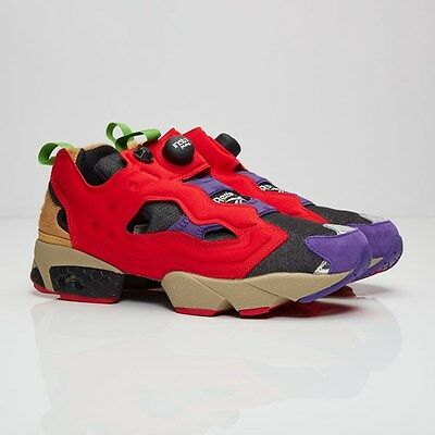 50d0ccee20d87 Reebok Instapump Fury Pump VP Villains Red Purple japan Men aape Turtle  AR1446