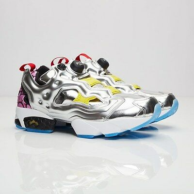Reebok Instapump Fury Pump VP Villains Silver Krang japan Men aape Turtle  AR1445