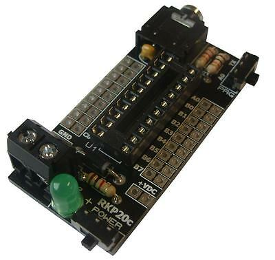 Rk Education - RKP20C KIT - Project Pcb For 20pin Picaxe & Genie