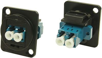 Cliff Electronic Components - CP30213MB - Feedthru, Lc Duplex Sm, Black Metal