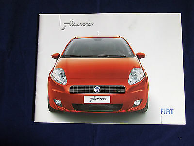 Fiat Punto Full Sales Brochure 2007 33 Pages