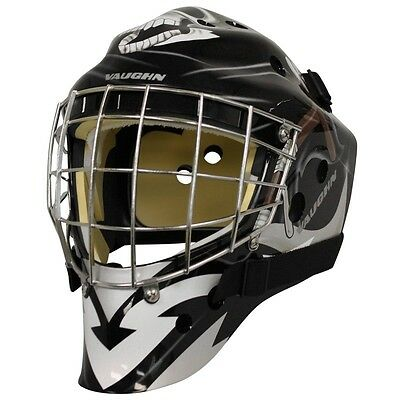 New Vaughn 7700 ice hockey goal helmet Reaper Sr medium senior goalie face mask