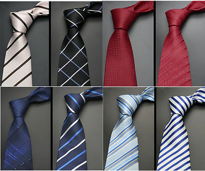 Fashion Clothing Jacquard Woven Suit and tie Silk  Slim Wedding Necktie Men's