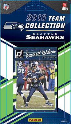 Seattle Seahawks 2016 Donruss Factory Team Set Russell Wilson Largent Prosise