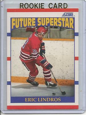 1990-91 Score Eric Lindros Rookie Card RC #440 Mint (American Version)
