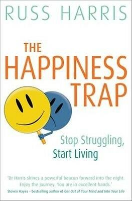 The Happiness Trap by Russ Harris Paperback Book