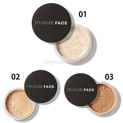 Smooth Skin Face Finishing Loose Powder Foundation Concealer Bare Makeup