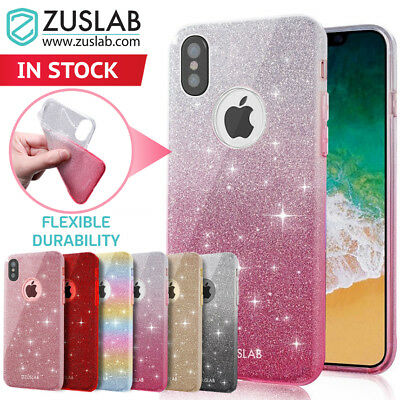 iPhone 7 Case 7 Plus 6s Case For Apple Zuslab Sparkle Cover Screen Protector