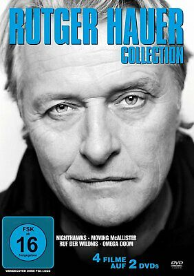 Rutger Hauer Collection - 4 Filme [2 DVDs] NEU/OVP