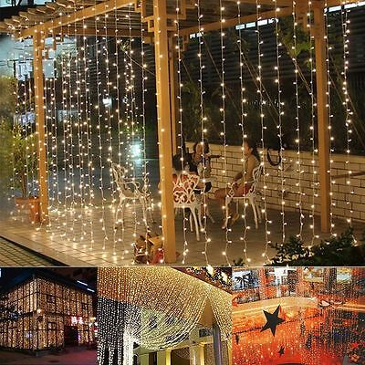 2/3/4/5/10m LED String Fairy Lights Battery Operated Party Xmas New Year 2017