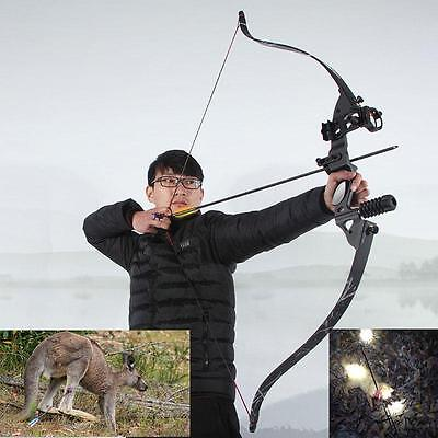 Archery Hunting Takedown Recurve Bow Alloy Riser Longbow Target Game Competition