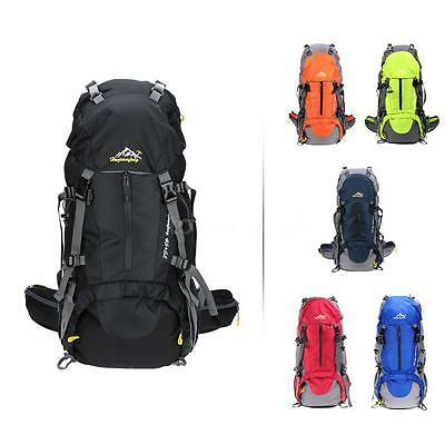 50L Outdoor Sport Hiking Camping Cycling Backpack Waterproof Rucksack BIKE Bag