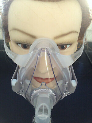 Resmed AirFit F10 Full Face CPAP Mask Size Sml Med Lrg with strap sleep apnea