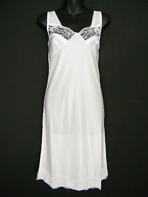 Lacy Underslip 100% Polyester 4 Colours Sizes 12 14 16 18 20 22 24 26 28 30 32
