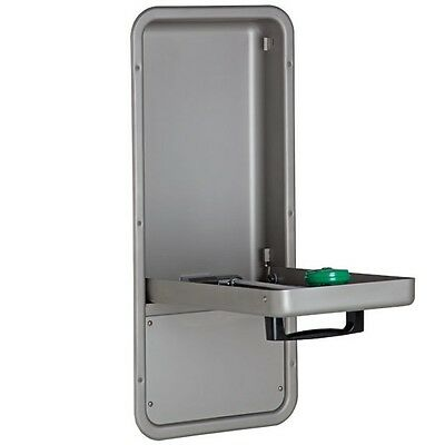 Haws 7656WCC Barrier Free Recessed Pull Down Eye Face Wash Station