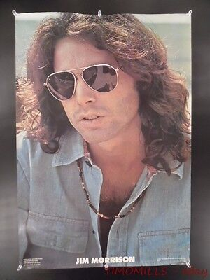 1978 The Doors Jim Morrison One Stop Record Store Promo Poster Vintage VG