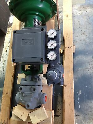 Fisher Controls Actuator Type 657 Size 30  Port Size 3/4""