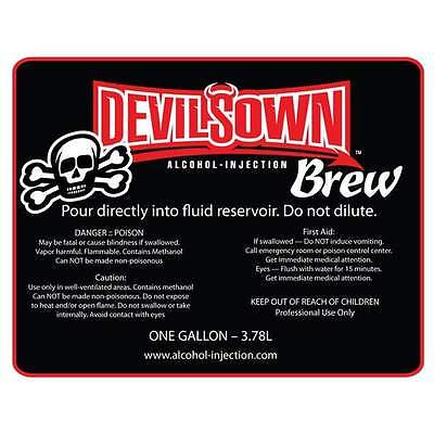 Devilsown Brew Premixed Water / Methanol 20L Aem Snow Coolingmist Aquamist