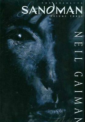 Absolute Sandman Vol 03 by Neil Gaiman (English) Hardcover Book Free Shipping!