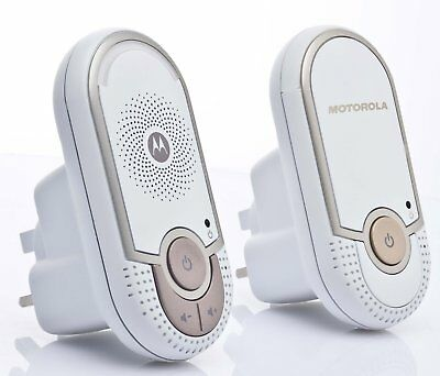 Motorola Audio Baby Monitor Wireless Safe Communication Monitoring System New