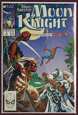 Marc Spector Moon Knight (1989) #2, NM 9.0+